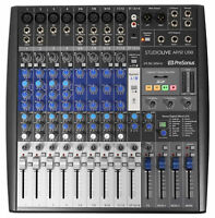 Presonus StudioLive AR12 14-Channel USB Hybrid Live Sound/Studio Recording Mixer