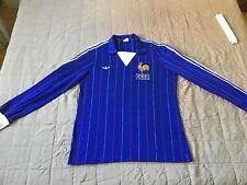 Adidas Ventex France Football shirt Spain 1982 made in France Sz. M/L