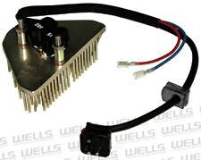 HVAC Blower Motor Resistor WVE BY NTK 4P1825