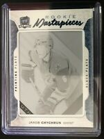 2016-17 The Cup Jakob Chychrun Rookie Masterpieces Black Printing Plate 1/1
