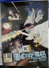 Anime DVD: D.Gray Man Hallow (1-13 End)_Good English Sub_All Reg_FREE SHIPPING