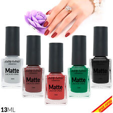 Vernis Ongles Mat Matte 13ML Email Peinture Pinceau Polissage French