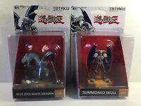 Totaku Collection 19 and 22 Yu-Gi-Oh! Blue Eyes White Dragon And Summoned Skull