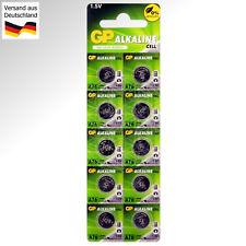 10 x 1,5V LR44 Alkaline Batterien Knopf Zellen  L1154 F AG13 A76S G13A A76 357A
