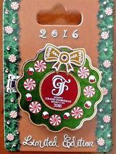 Disney Pin 2016 Christmas Holidays Grand Floridian Resort Gingerbread House Pin