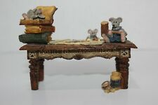 Boyds Bears & Friends Noah's Genius at Work Table Style# 2429 F.oB. Edition