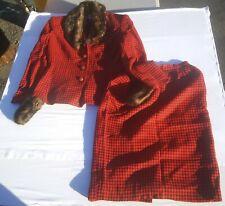 Vintage Morgan Miller Women's 2 Piece Suit. Size 8