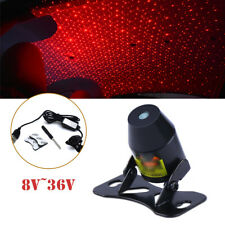 8V-36V Car Room Star Twinkle LED Decor Light Projector Inside Rooftop Ceiling