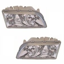 For Volvo V40 5/2000-2003 Headlights Headlamps 1 Pair O/s & N/s 4 Pin