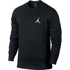 JORDAN FLIGHT FLEECE CREW 823068 010 Sweatshirt Sweater Mens SIZE LARGE L NWT