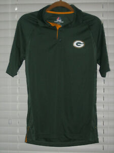 Green Bay Packers Collared Polo Shirt, Green, Small, NWOT
