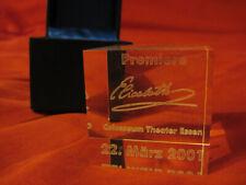 ELISABETH Musical Memorabilia 316g Würfel 2001 Premiere Colosseum Theater Essen