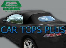 "1995-99 Mitsubishi Eclipse Convertible Top & Heated Glass ""Robbins"" Black Cloth"