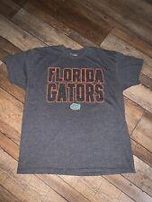 Men's Large Champs Sports Team Edition Apparel Florida Gators Gray T-shirt