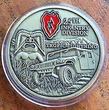 The USA 25th Infantry Division Medallion Medal TROPIC THUNDER Duty Respect