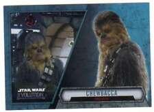 2016 Topps Star Wars Evolution Trading Card #59 Chewbacca Smuggler