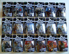 Lot of 33 Hasbro Star Wars THE SAGA COLLECTION Action Figures 2006