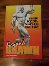 BEYOND BRAWN bodybuilding SIGNED muscle book by STUART MCROBERT (Hardcover)