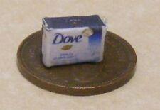 1:12 Single Empty Dove Soap Packet Dolls House Miniature Bathroom Accessory