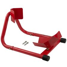 Front Paddock Stand Back Wheel Motorcycle Red
