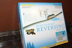 Bachmann 44547 HO Scale EZ-Track Nickel Silver Reversing System Point to Point