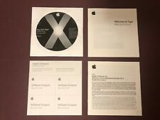 Mac OS X 10.4 Tiger Upgrade CPU Drop In DVD w/ Proof of Purchase. FREE SHIPPING
