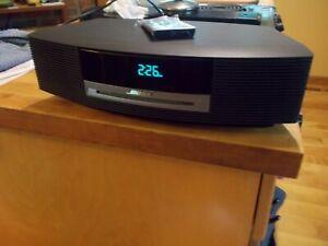 Bose Wave Music System Clock Alarm CD Radio Remote