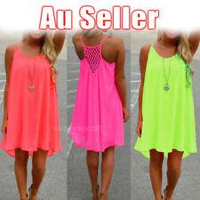 Chiffon Summer/Beach Shirt Dresses for Women