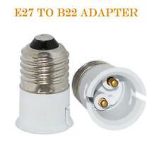 FEMALE LAMP CONVERTER SOCKET BAYONET BULB ADAPTER LIGHT HOLDER BASE - E27-B22