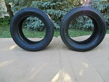 (2) 195/55R15 Yokohama YK420 84H-Rated Tires 50-75% Tread 195/55/15