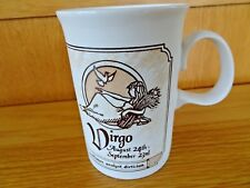 Virgo Astrology Zodiac Stoneware Mug Dunoon Made in Scotland