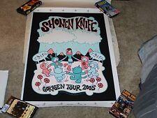 Tara McPherson Shonen Knife Silkscreen Poster 2005