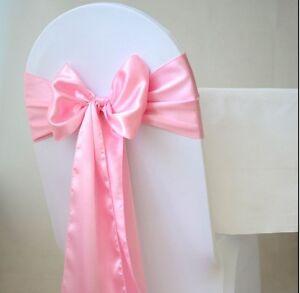 Combo Set of 25 Polyester Satin Chair sash & 5 Table Runner Wedding Party Decor