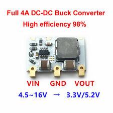 98% 4A Mini DC-DC Buck Converter 5V-16V to 5V 3.3V Step-down Power Supply Module