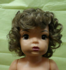 New Wig For Terri Lee Wig Light Golden Brown Curly All Over