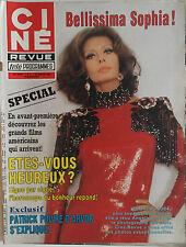 Ciné Revue n°3- 1984 : Sophia Loren Paul McCartney Kurt Russel Al Pacino