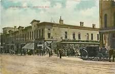 Wisconsin, WI, Janesville, West Milwaukee ST 1908 Postcard