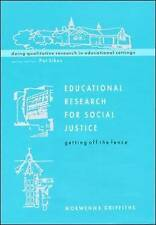 Educational Research For Socail Justice (Doing Qualitative Research in-ExLibrary