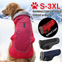 Waterproof Pet Dog Warm Padded Vest Coat Clothes Puppy Winter Jacket Fur  ✌ ⇝ g