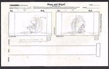 Maya and Miguel OPENING Original Production Animation Storyboard PBS 12-13
