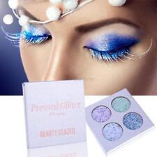 4colors Eye Shadow Palette Iridescent Diamond Shining Makeup Set Glazed Cosmetic