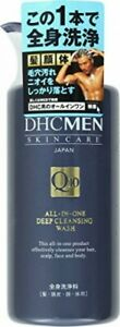 DHC for men all-in-one Deep Cleansing Wash 500ML 7x7x19.2cm 4511413521151