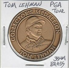 LAM(C) SCD - PGA Tour - Tom Lehman - 38 MM Brass
