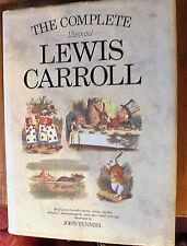 Complete Illustrated Lewis Carroll Illustrated by John Tenniel Hardback, 1991