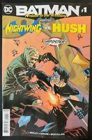 BATMAN #1 Prelude to the Wedding: Nighwing vs. Hush (2018 DC Comics) VF/NM