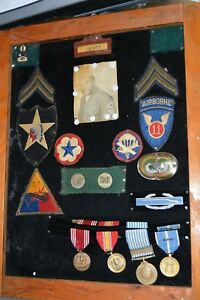 KOREA 11th Airborne Officers Paratrooper KOREAN War African American collection