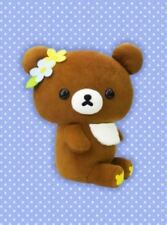 San-X Rilakkuma Korilakkuma Brown Bear Sitting Plush Mascot Japan Limited Rare