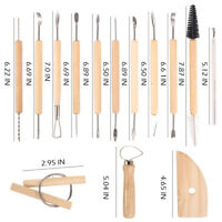 45x Pottery Clay Sculpture Carving Modelling Ceramic Sculpting Tools Craft New