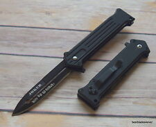 8 INCH OVERALL TACFORCE JOKER SPRING ASSISTED KNIFE WITH POCKET CLIP