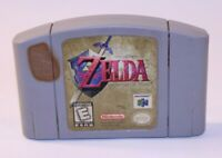 Zelda Ocarina Time Nintendo 64 N64 Video Game Authentic OEM Cart Only USA Family